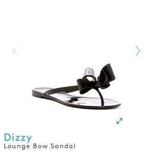 Dizzy lounge bow sandals